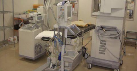 実験:実際の医療現場で簡易クリーンルーム化