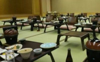 旅館の宴会場の消臭対策