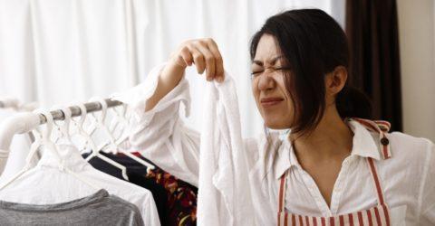 【検証記事】洗ったはずの衣類が臭う!!出張先でとった夫の行動に何も言えない私が除菌・消臭フィルターで解決した話。